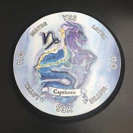 Capricorn Zodiac Pendulum Board - Round