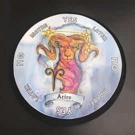 Aries Zodiac Pendulum Board - Round