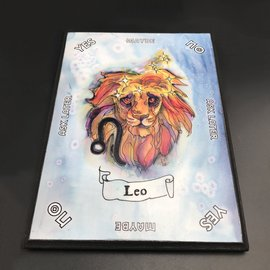 Leo Zodiac Pendulum Board - Rectangle