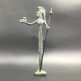 Athena - 4 inches Tall in Bronze - Made in Greece