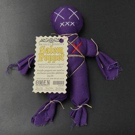 Bridget Bishop's Purple Salem Poppet