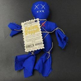Bridget Bishop's Blue Salem Poppet