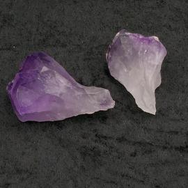 Stone Spinner Amethyst Point