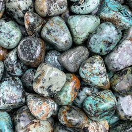 Stone Spinner Turquoise Tumbled