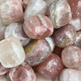 Stone Spinner Red Calcite