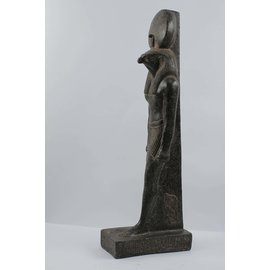 Amun-Ra statue - 22.4 Inches Tall in Basalt - Made in Egypt