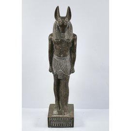 Anubis Statue - 22 Inches Tall in Granite - Made in Egypt