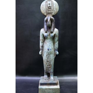 Thoth Statue - 14 Inches Tall in Flame Stone - Made in Egypt