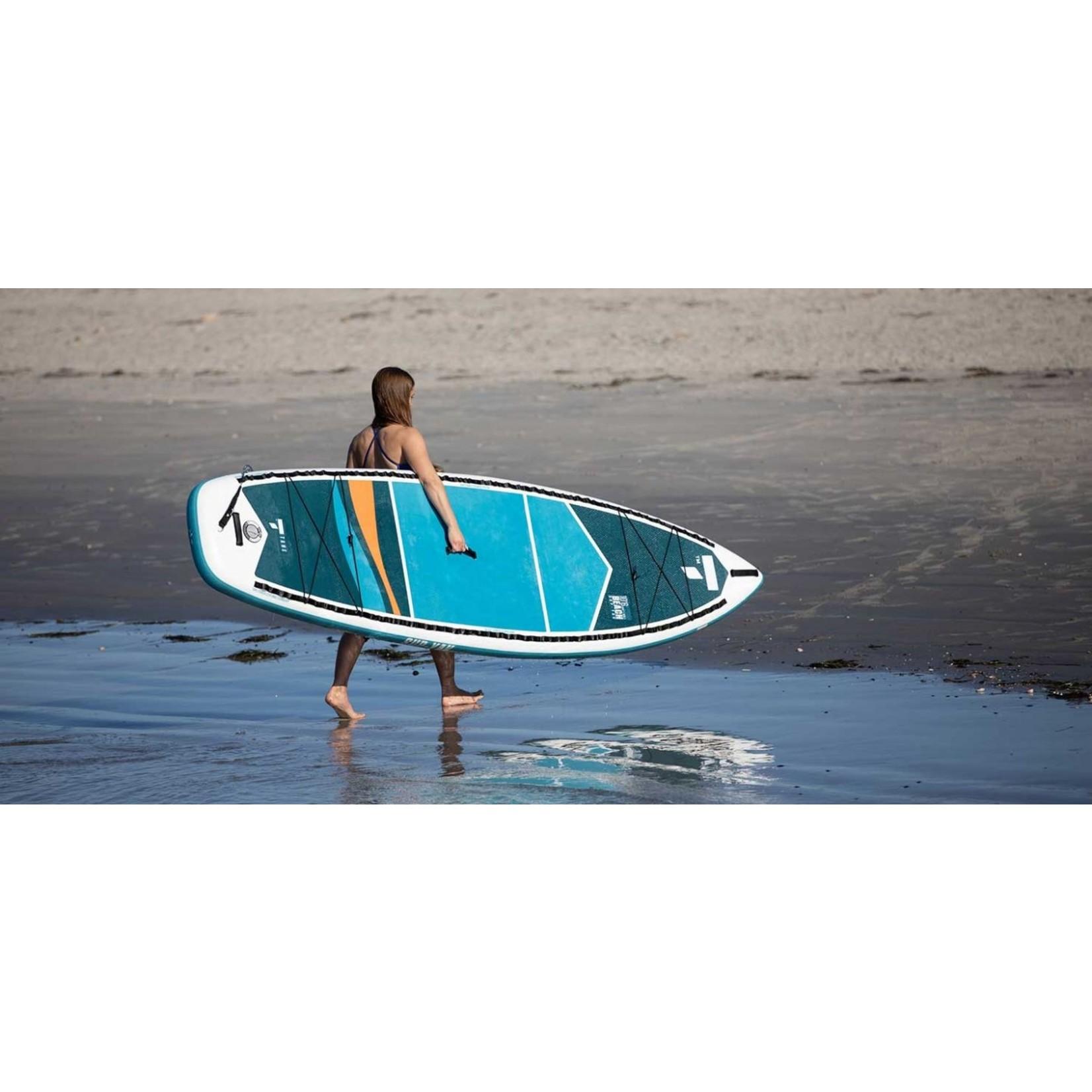 Tahe 10'6 Inflatable SUP/Kayak Beach Package