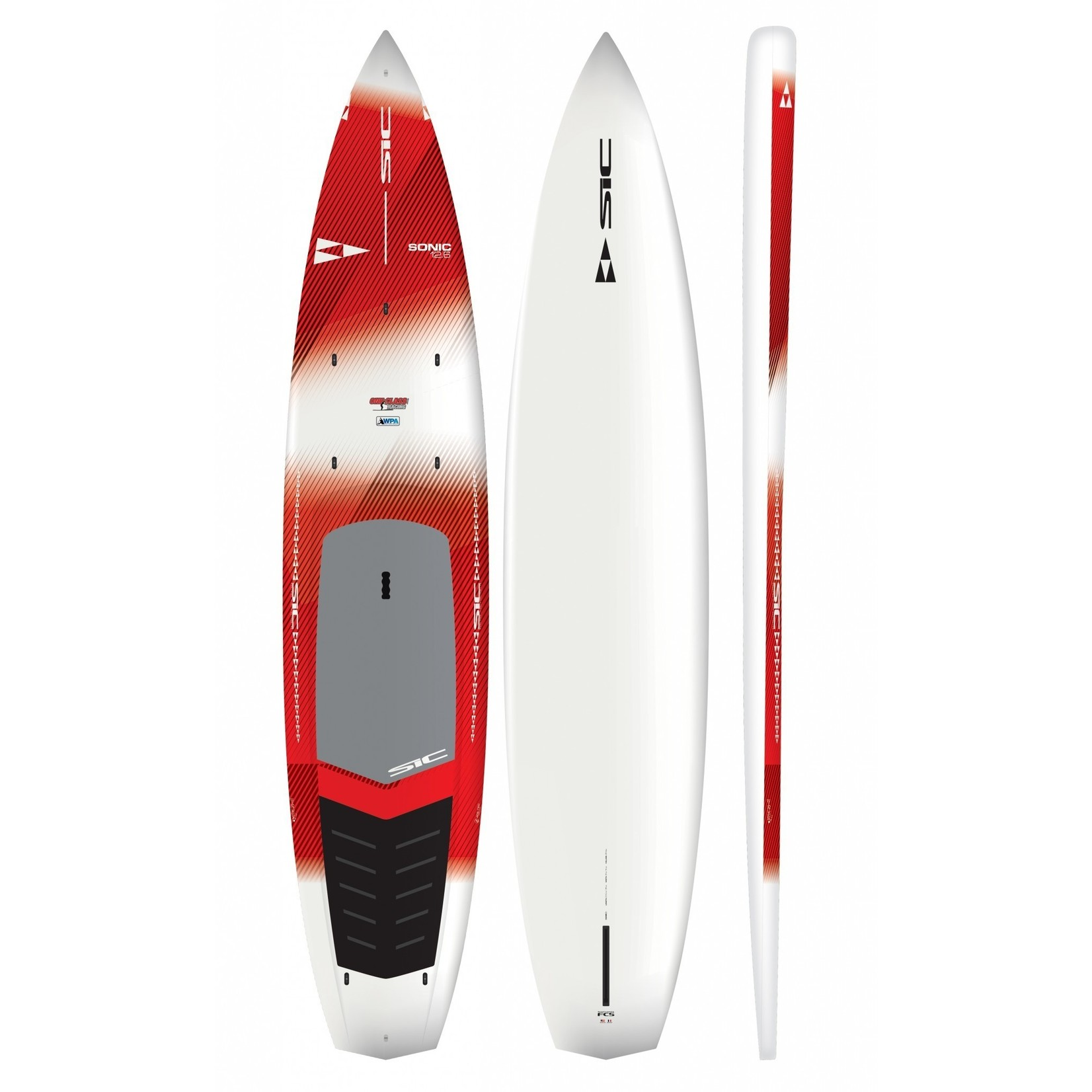 """SIC Sonic 12'6"""" x 30"""" Ace-Tec RED"""
