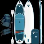 Tahe 11'6 Inflatable SUP/Kayak Beach Package