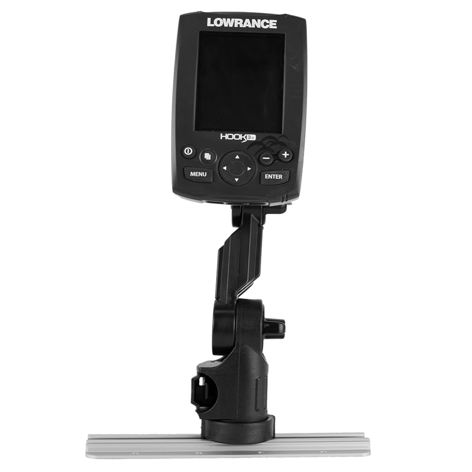 Yakattack Lowrance Fish Finder Mounty w/ Track Mounted LockNLoad system