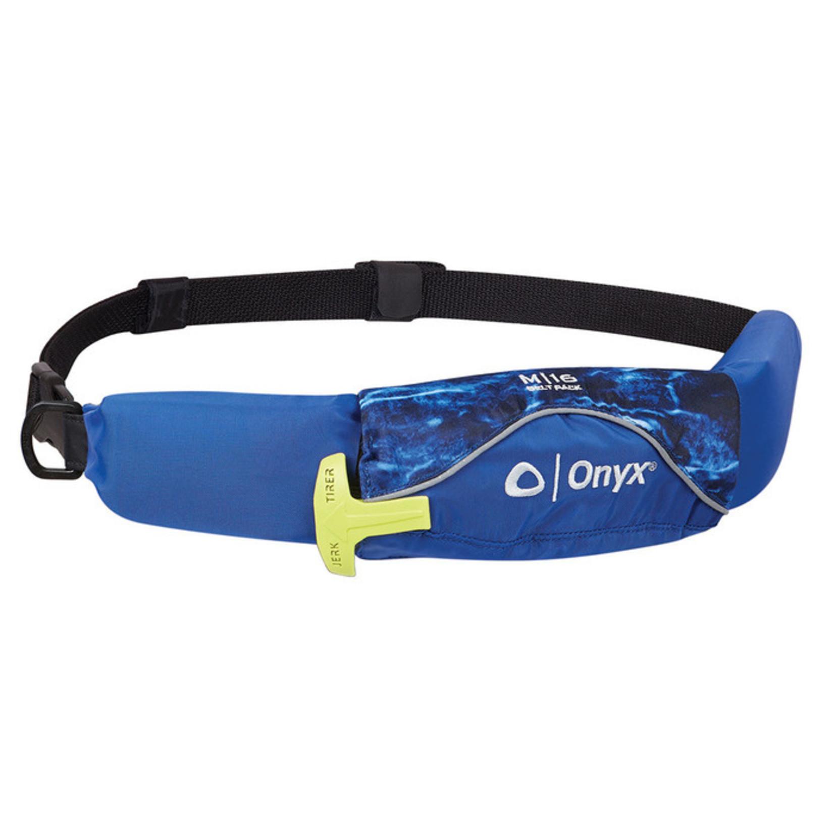 Onyx Onyx M-16 Belt Pack Manual Inflatable Life Jacket (PFD)  -  Elements