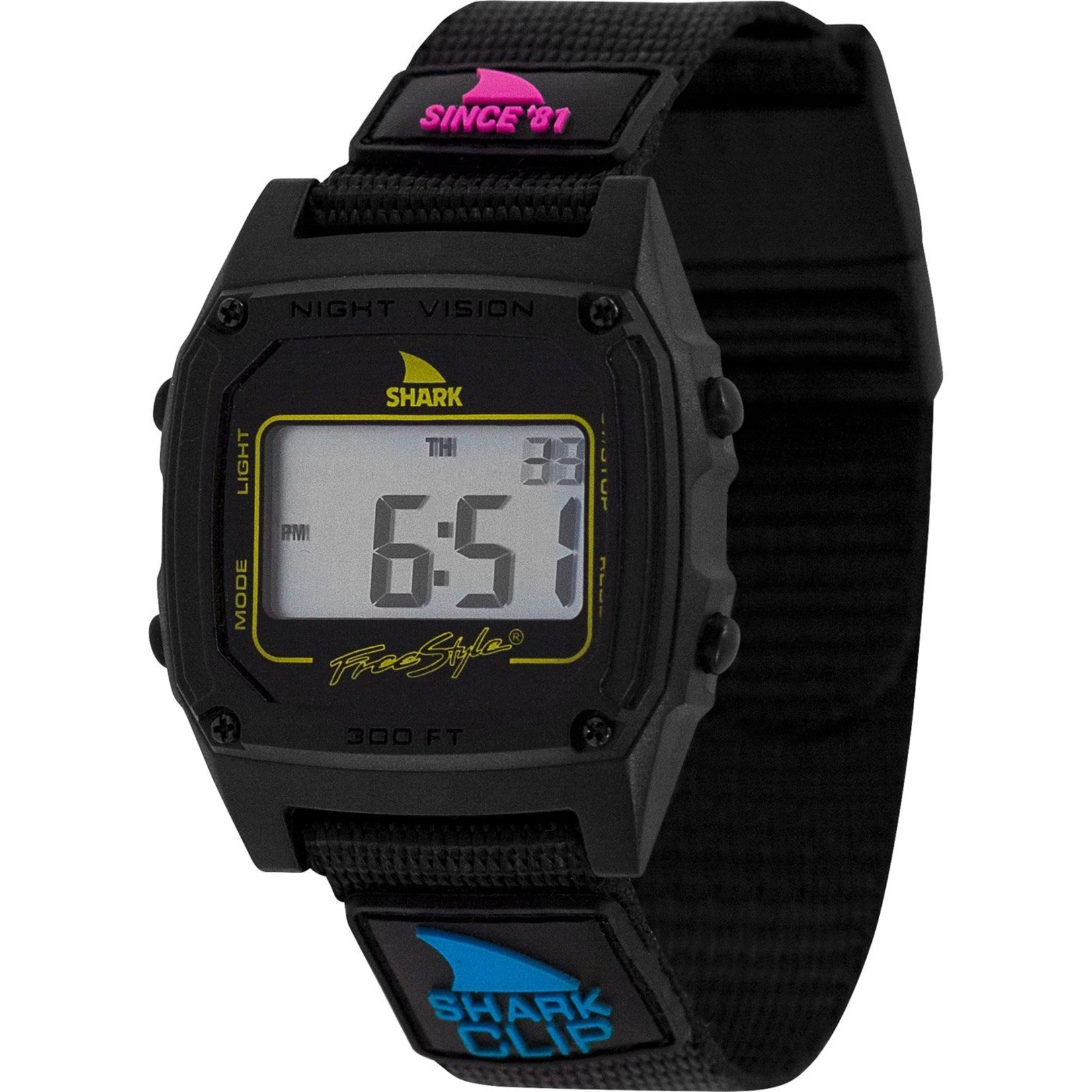 Freestyle Shark Classic Clip Since '81 Primary Blk