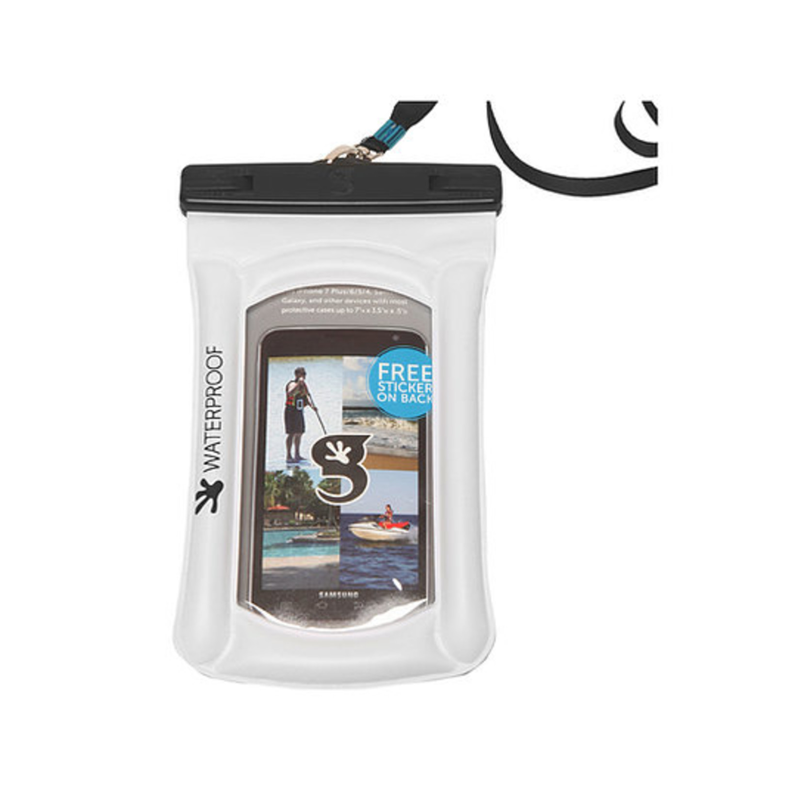 Gecko Floating Phone Bag