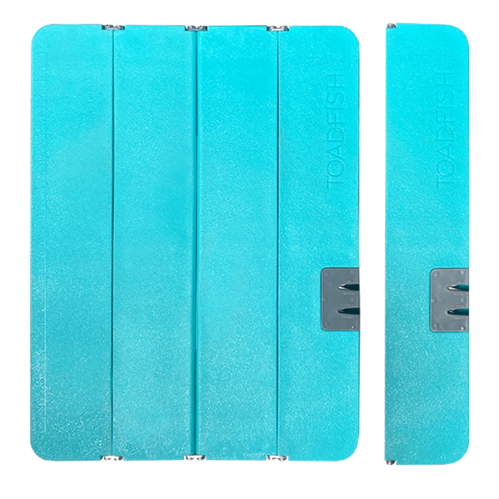 toadfish XL Toadfish Folding Cutting Board with Built in Knife Sharpener - Teal