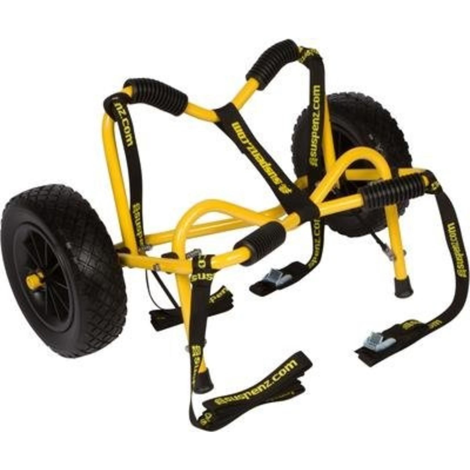 Suspenz, Inc. Suspenz Smart Airless DLX Cart