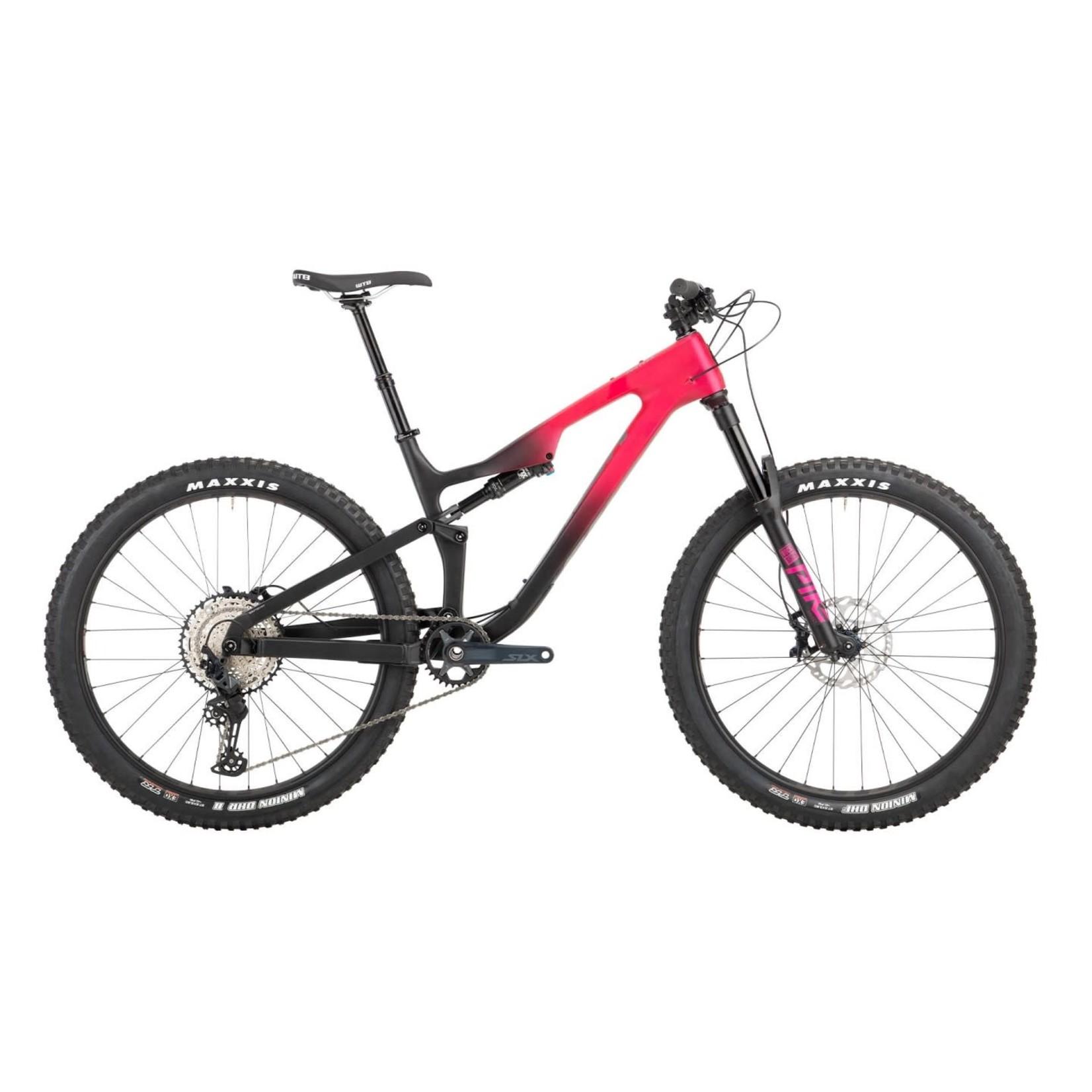 Salsa Salsa Rustler Carbon SLX Bike - 27.5'', Carbon, Pink/Black Fade, Small