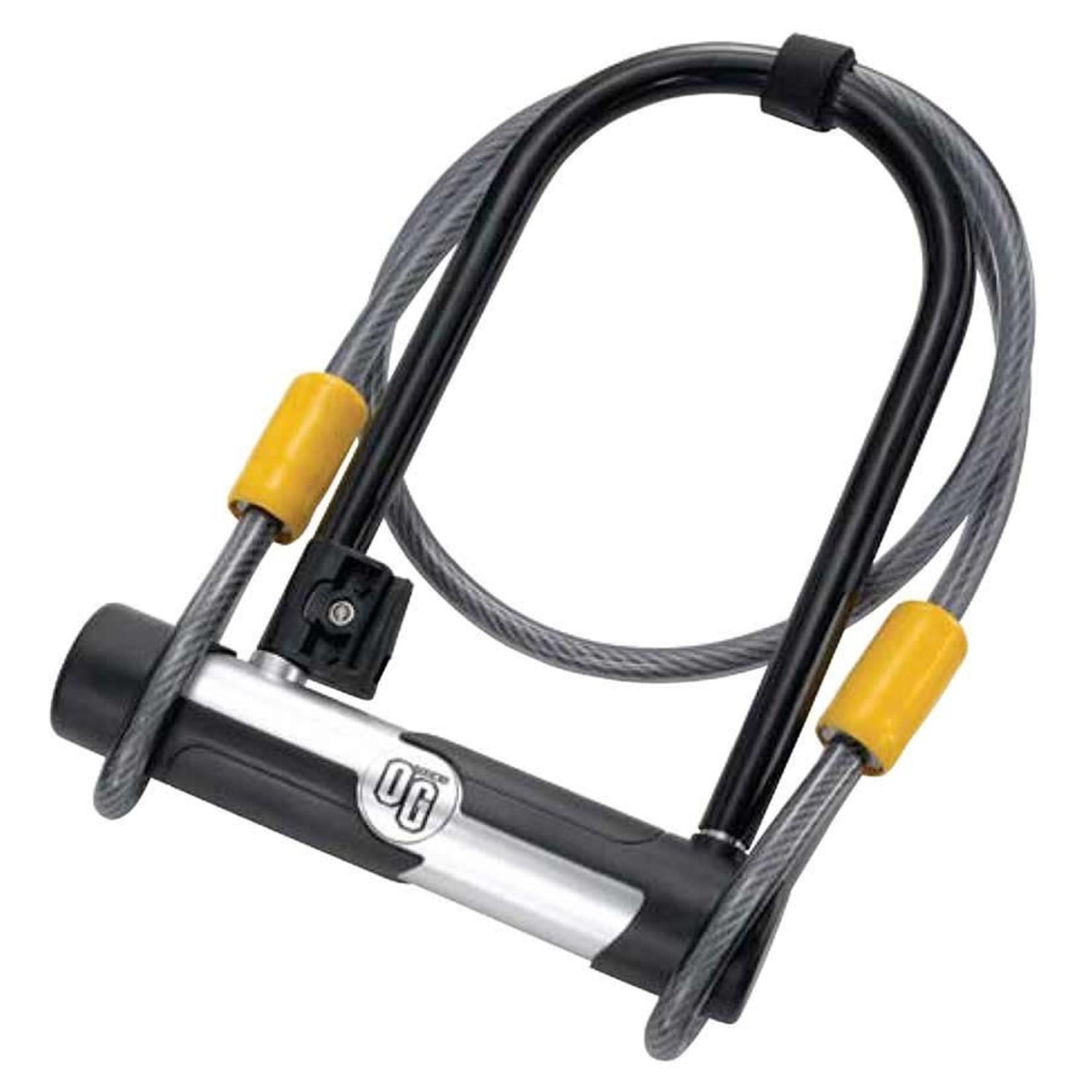 Onguard OnGuard, OG 5815, U-Lock, 106mm x 200mm (4.2'' x 7.9'') / Cable 10mm x 120cm (10mm x 4')