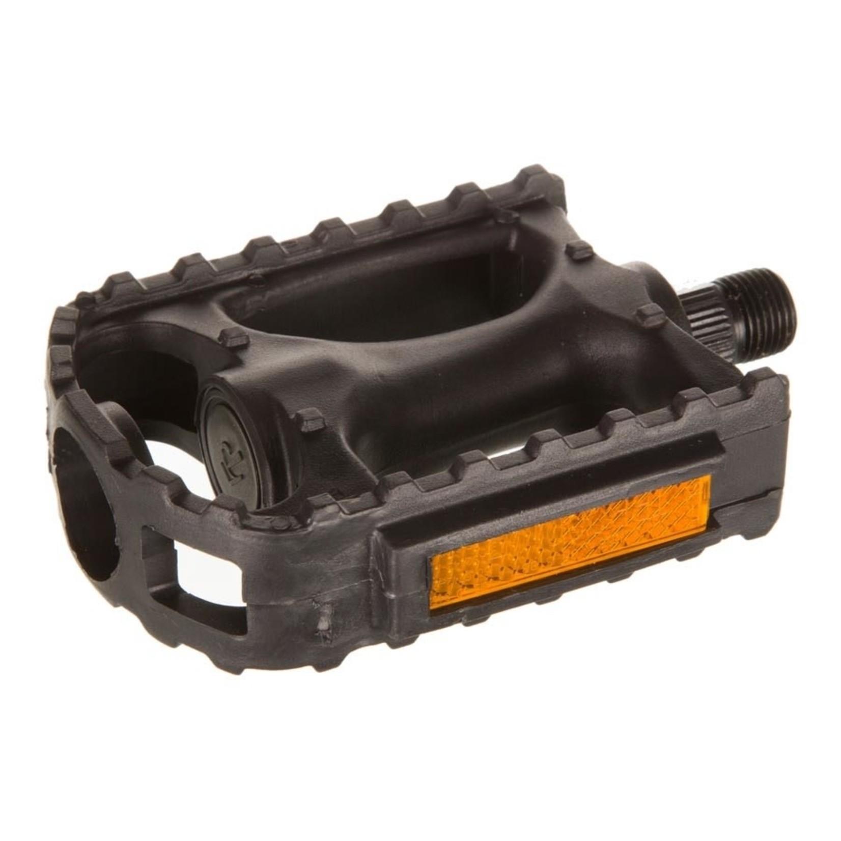 EVO EVO, Swivel Resin, Pedals, 1/2'' axle, Black