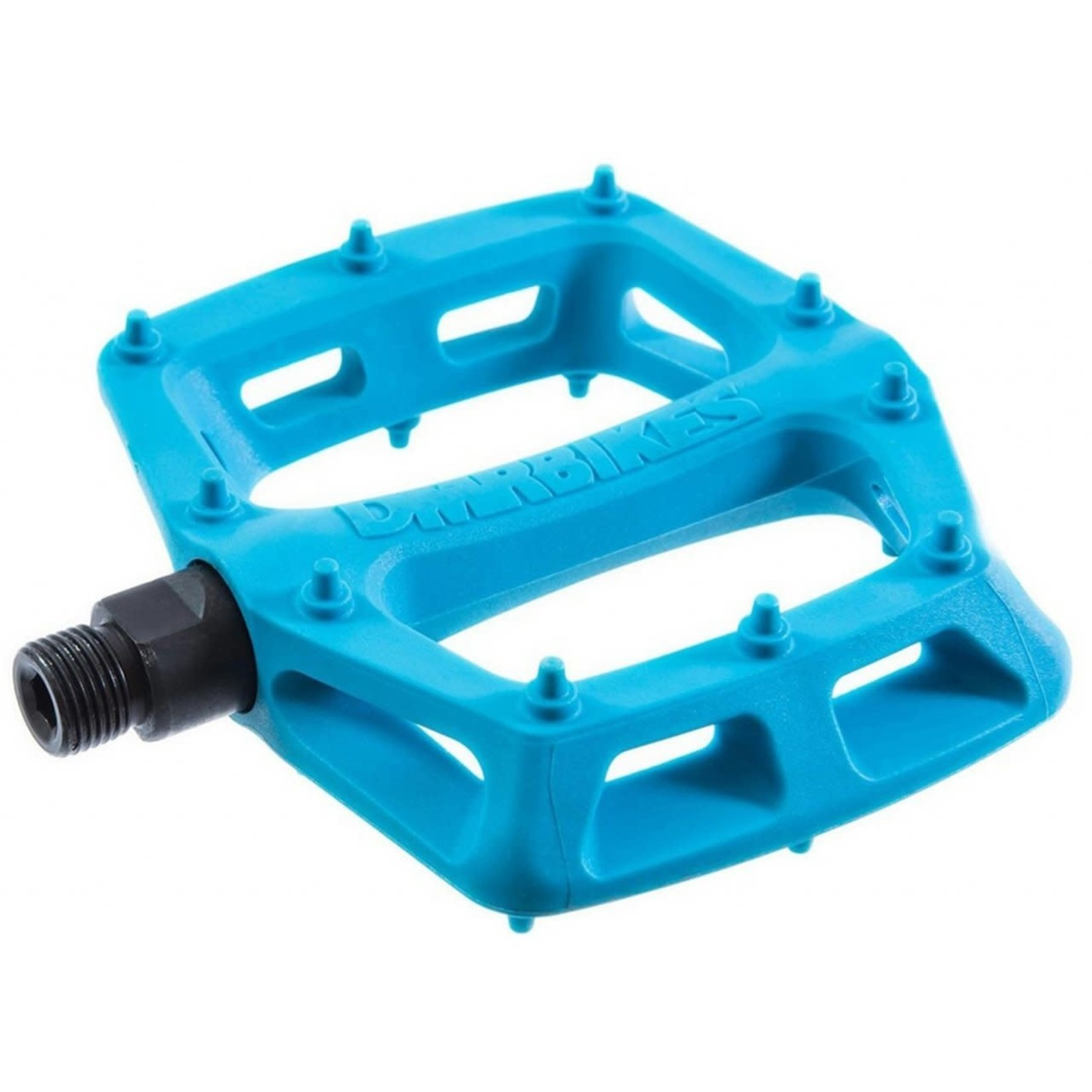 DMR DMR V6 POLY FLAT PEDAL BLUE