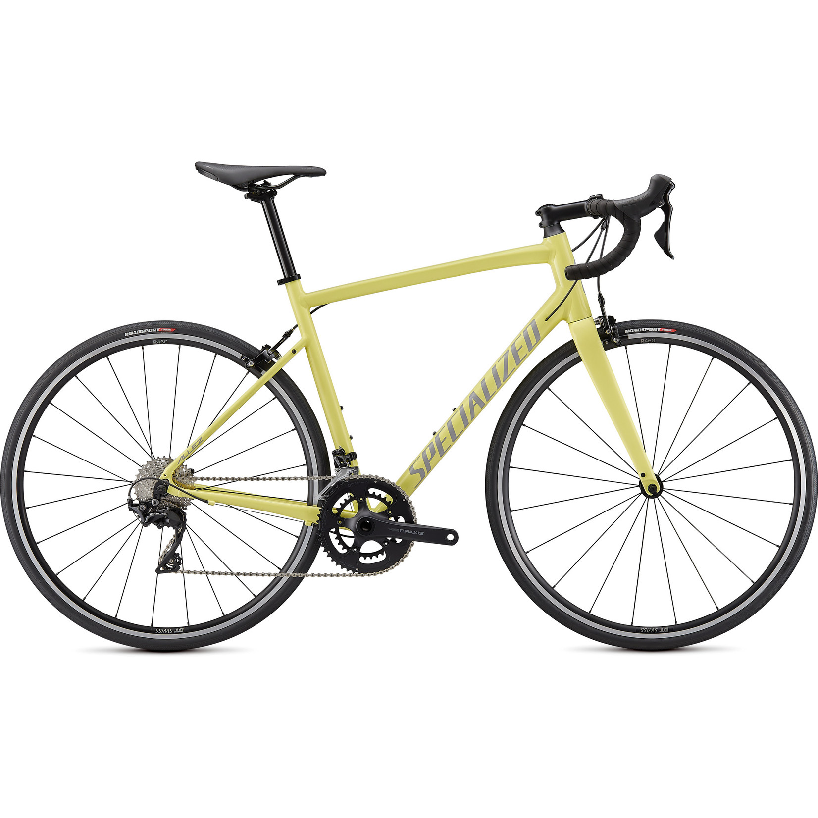 Specialized Allez E5 ELITE - Ice Yellow/Dove Grey 54