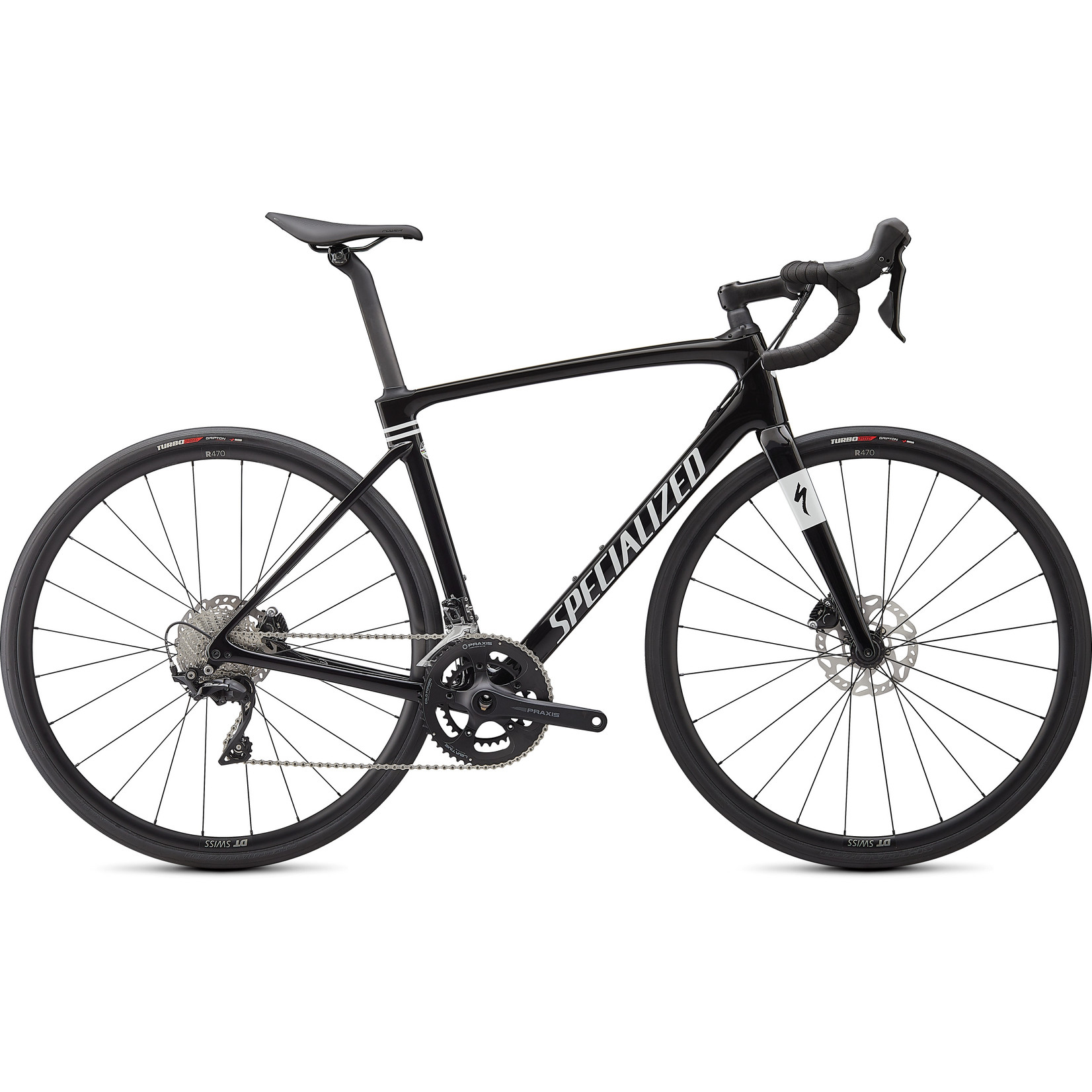 Specialized Roubaix Sport - Specialized Tarmac Black/Met White Silver 52