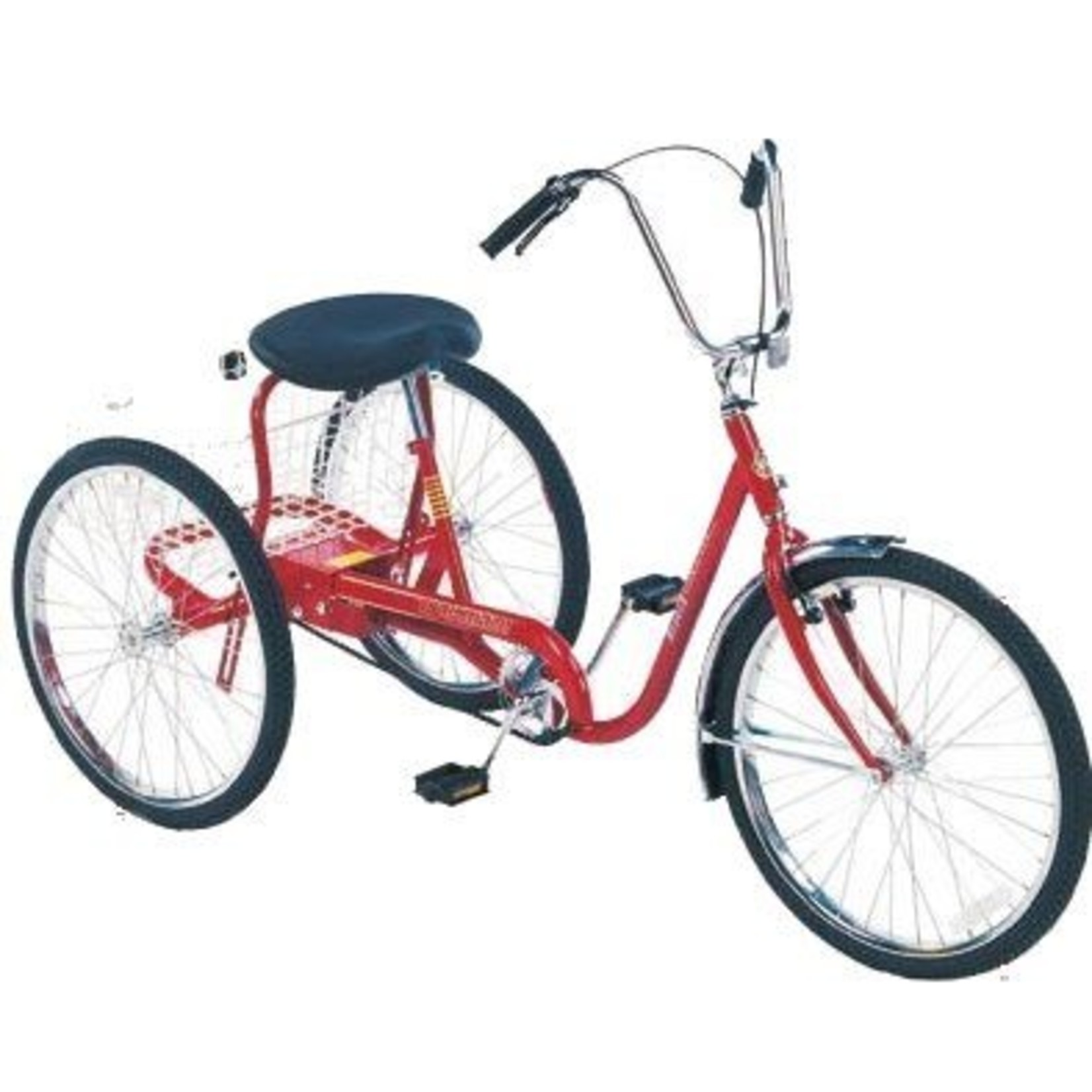 Trailmate Desoto Adult Tricycle Metallic Red