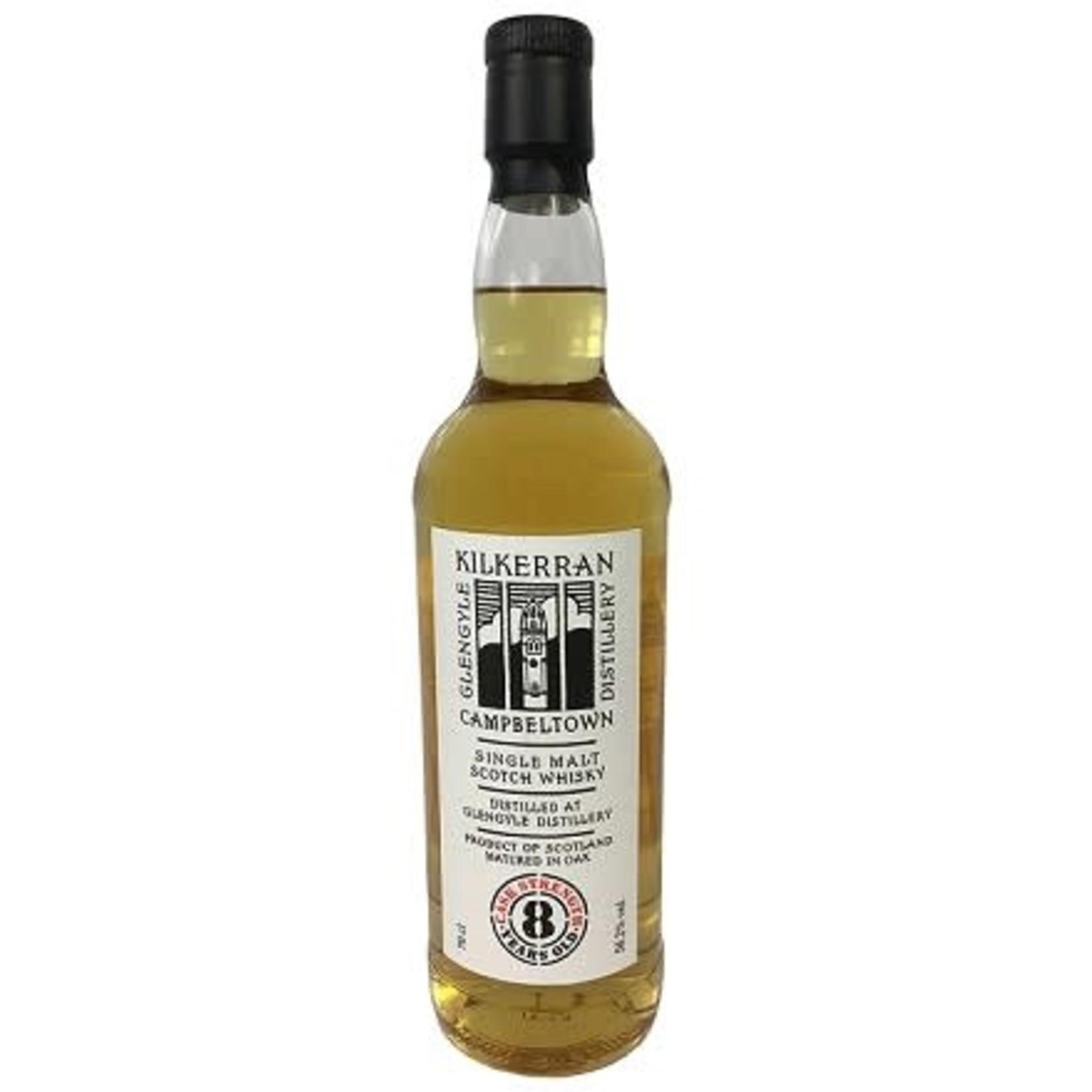 Spirits Glengyle Distilery Kilkerran 8 Year Old Cask Strength Single Malt Scotch Whisky