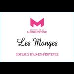 Wine Domaine de la Mongestine Coteaux d'Aix-en-Provence Les Monges Rose Organic