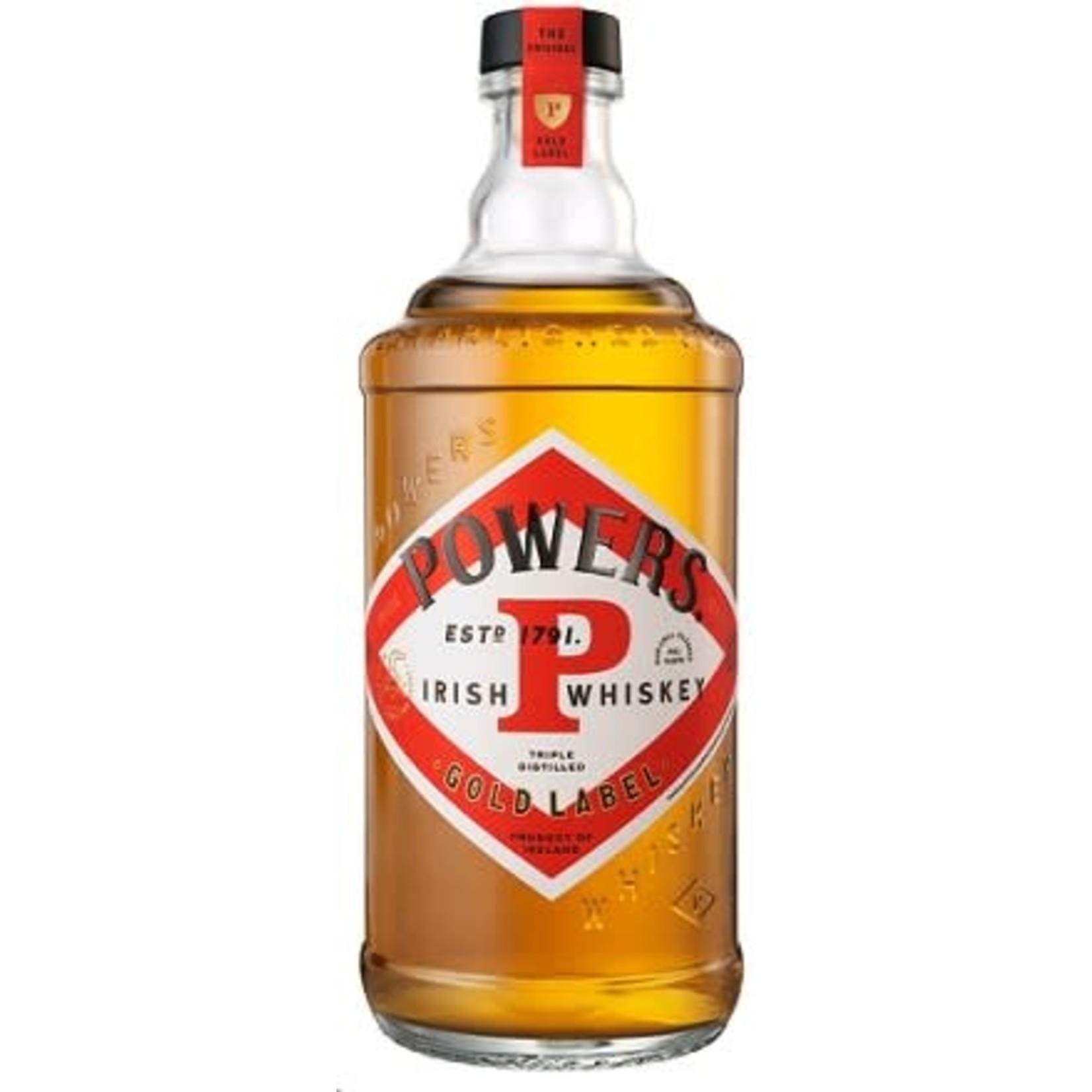 Spirits Powers Irish Whiskey Gold Label