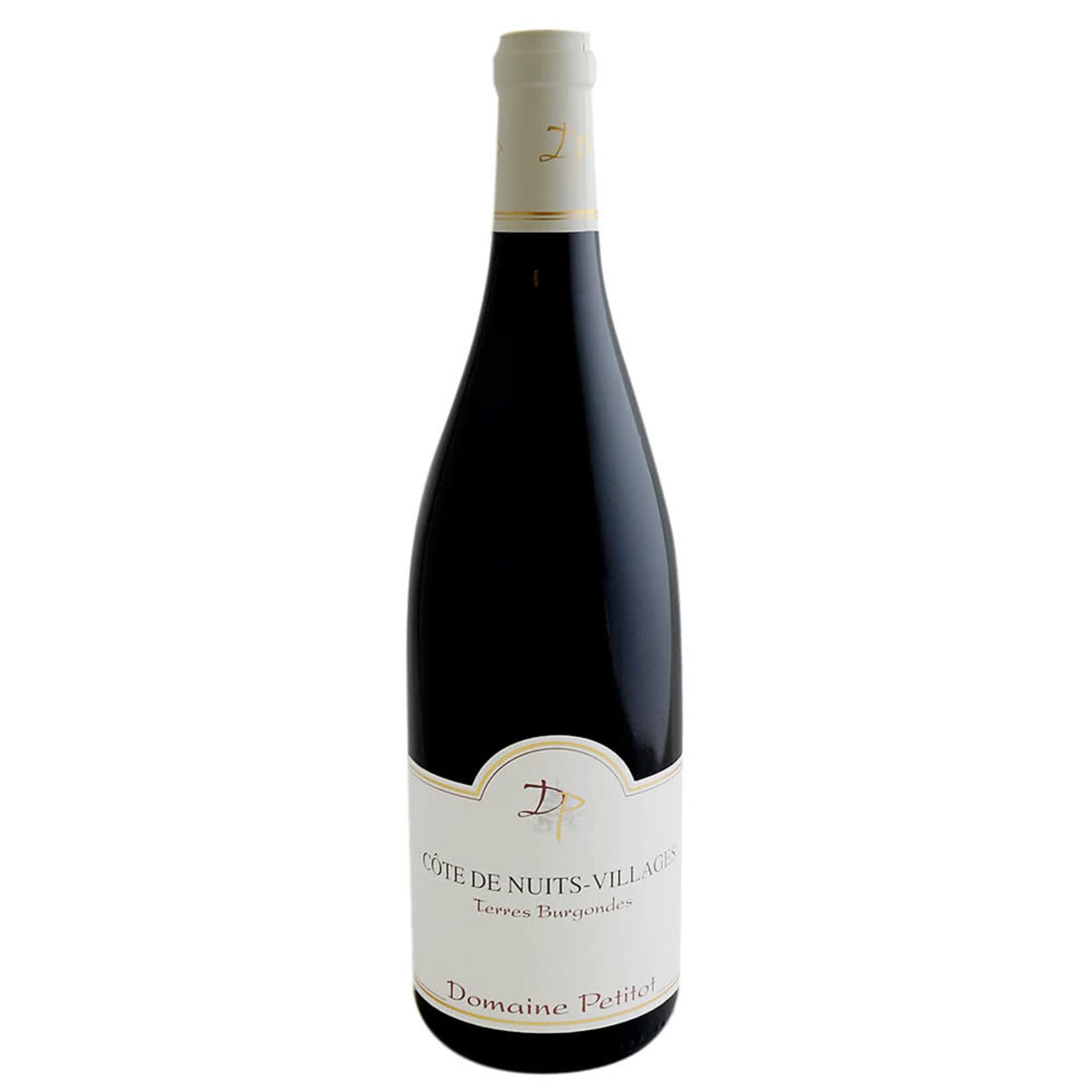 Wine Domaine Petitot Cotes de Nuits-Villages Terres Burgondes 2017