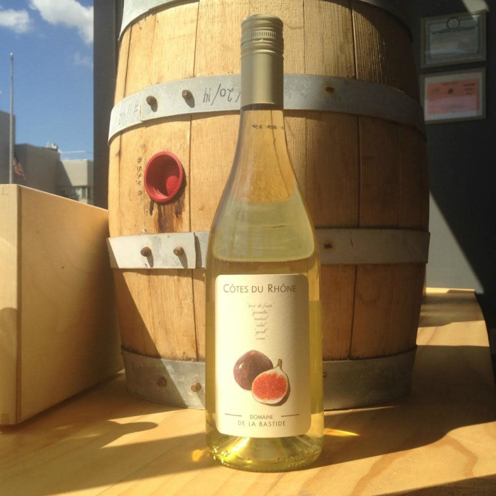 Wine Domaine de la Bastide Figue Blanc 2019