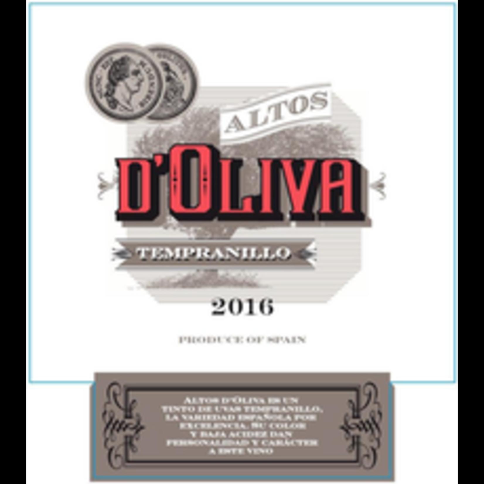 Wine Altos d'Oliva Tempranillo