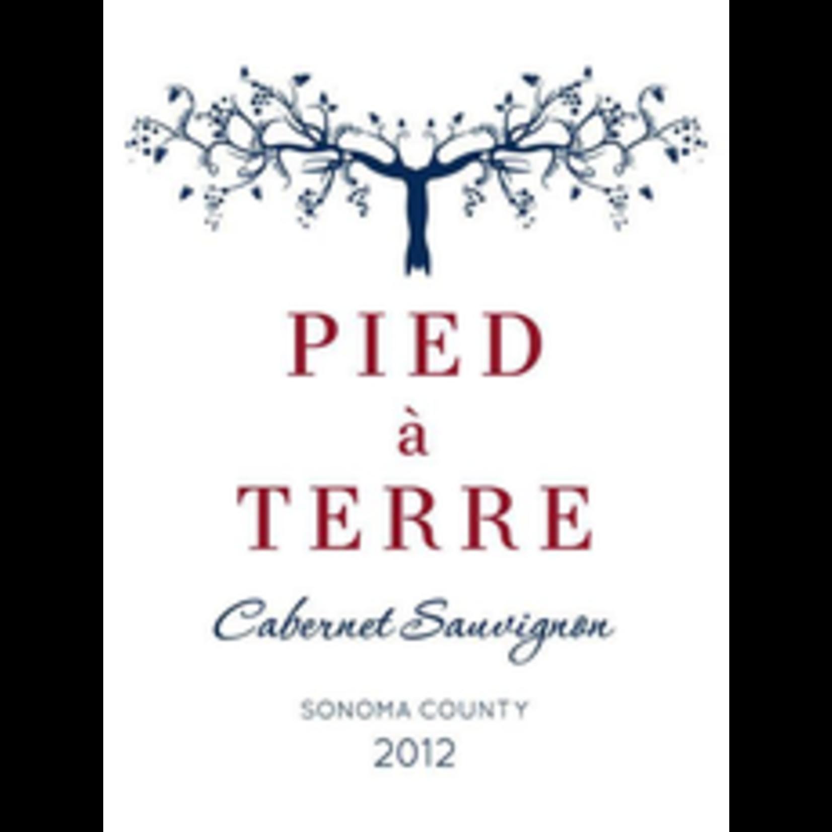 Wine Pied a Terre Cabernet Sauvignon Sonoma County 2015