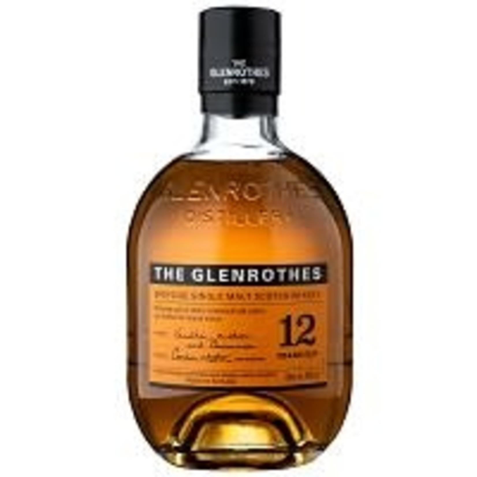 Spirits The Glenrothes Scotch Singe Malt 12 Year