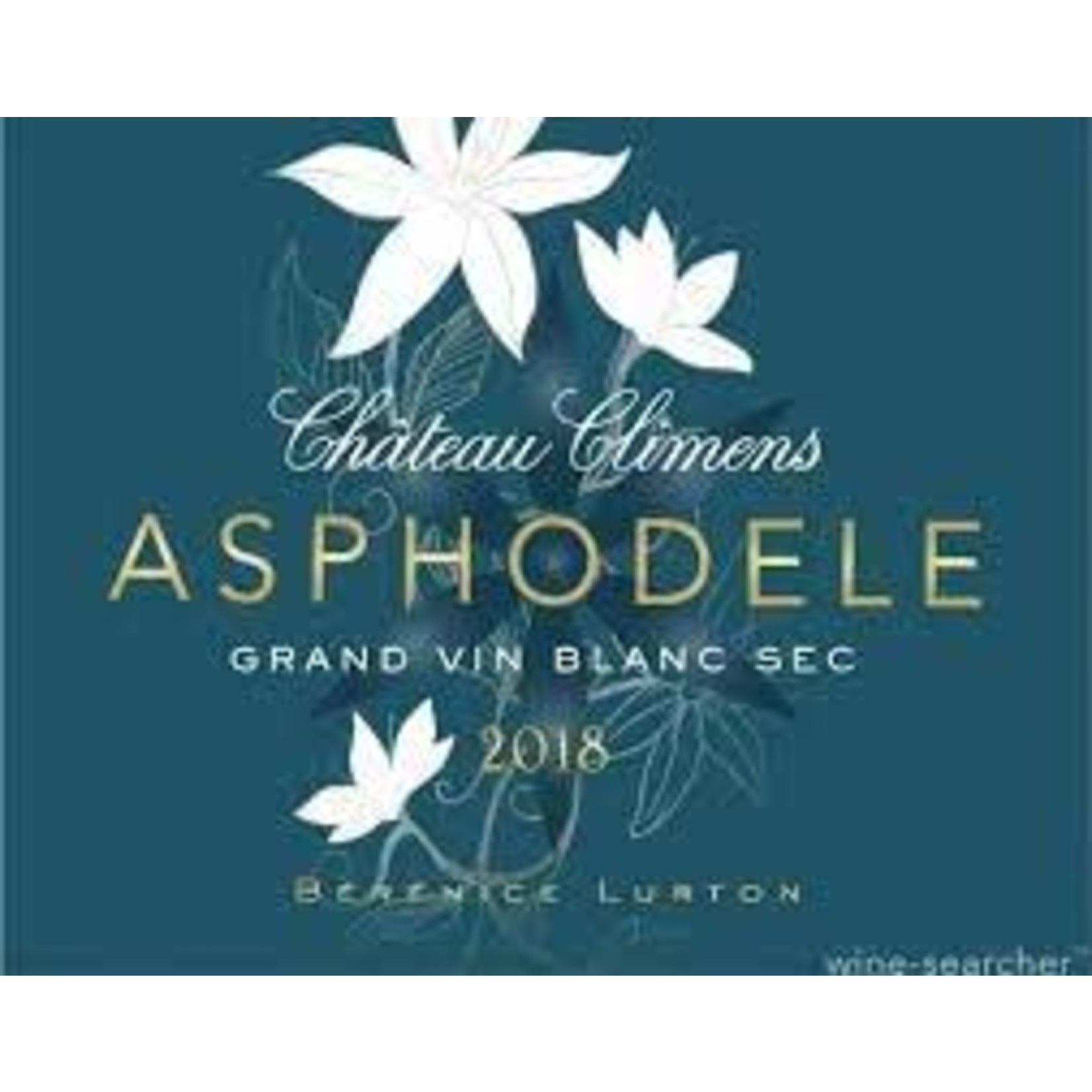 Wine Chateau Climens Asphodele Bordeaux Blanc Sec 2019