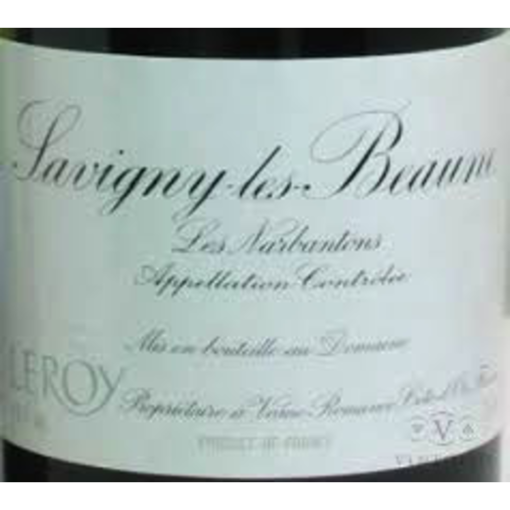 Wine Domaine Leroy Savigny Les Beaune Les Narbanton Premier Cru 1978