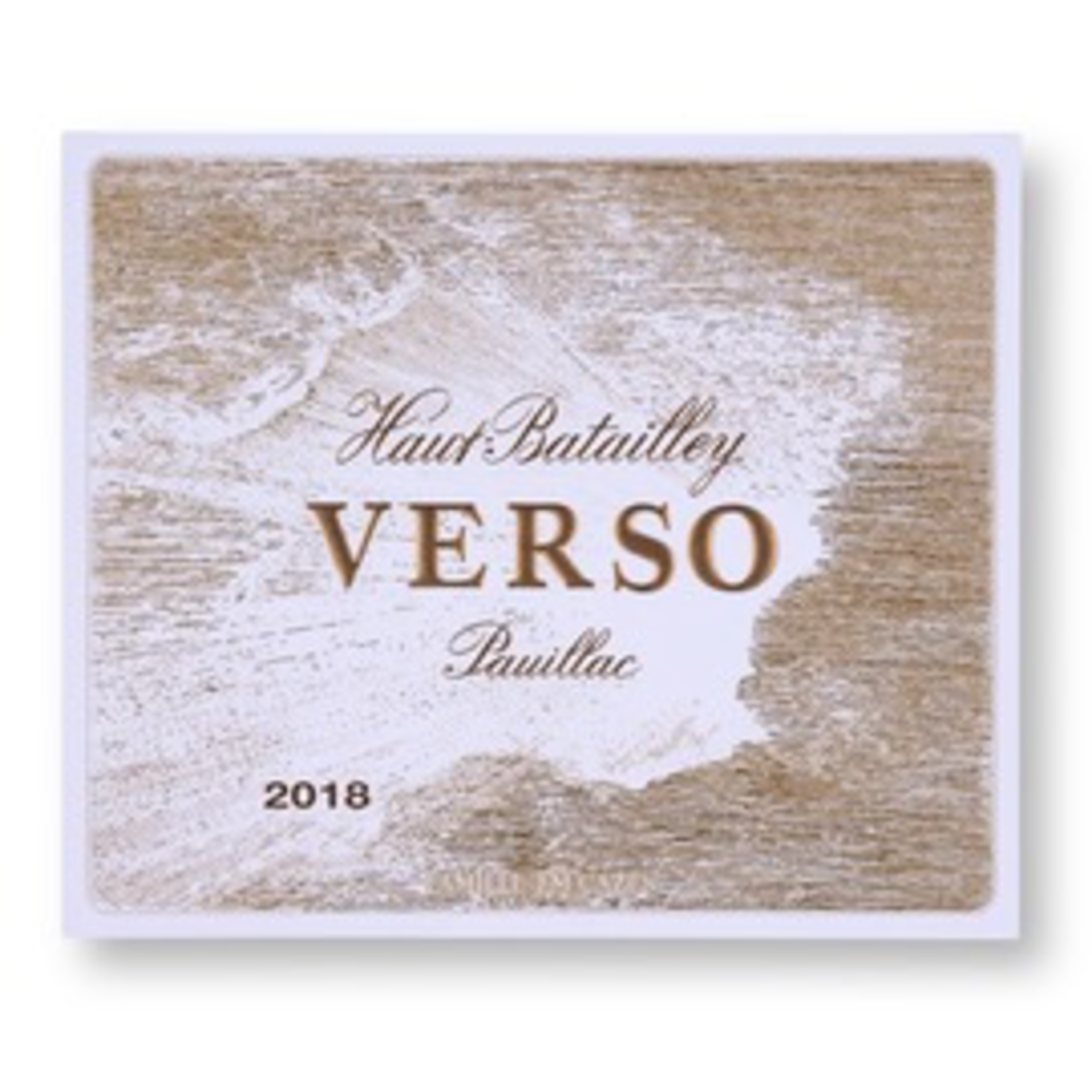 Wine Chateau Haut-Batailley Pauillac Verso 2018 375ml