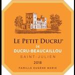 Wine Chateau Petit Ducru Beaucaillou 2018
