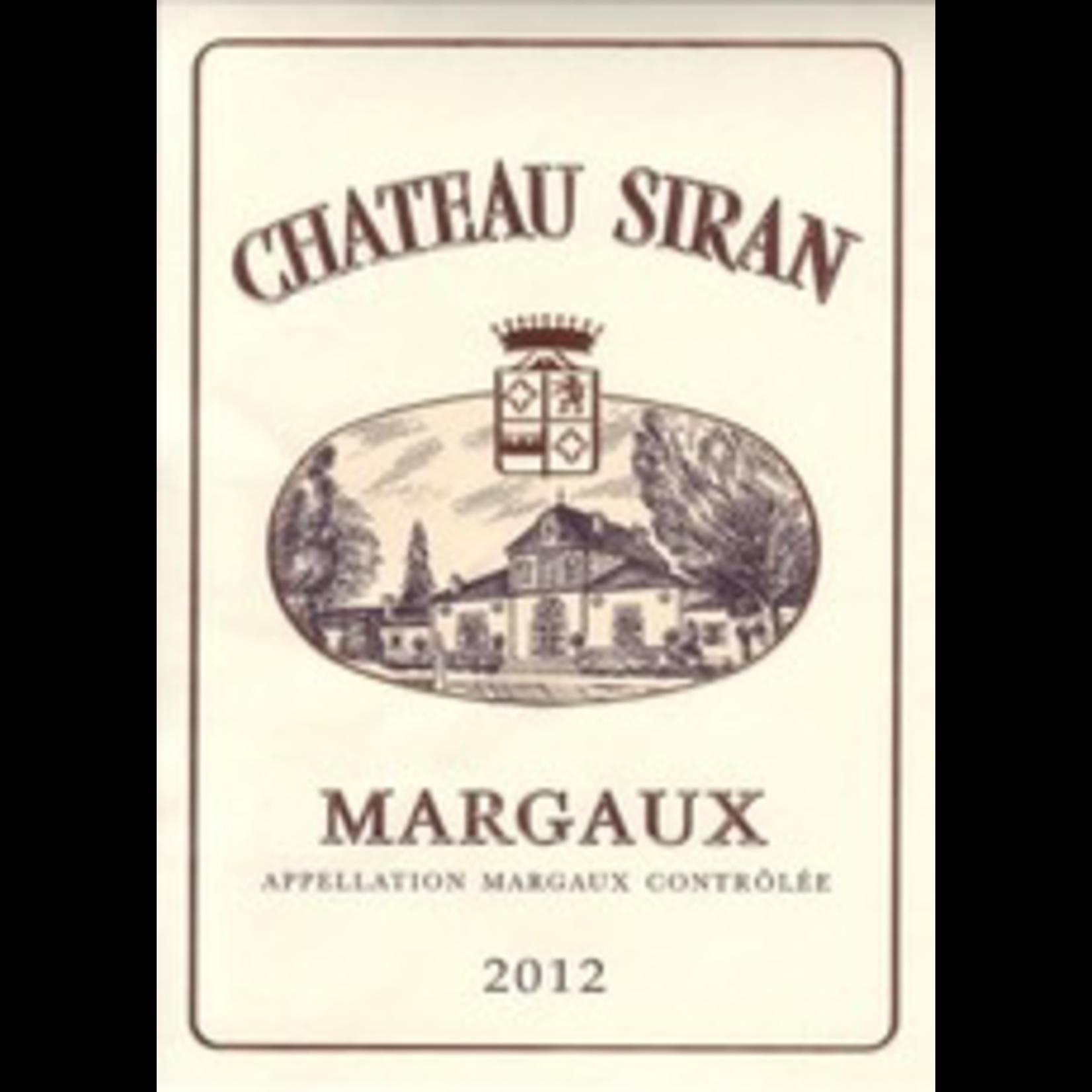 Wine Chateau Siran 2018