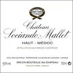 Wine Chateau Sociando Mallet 2018