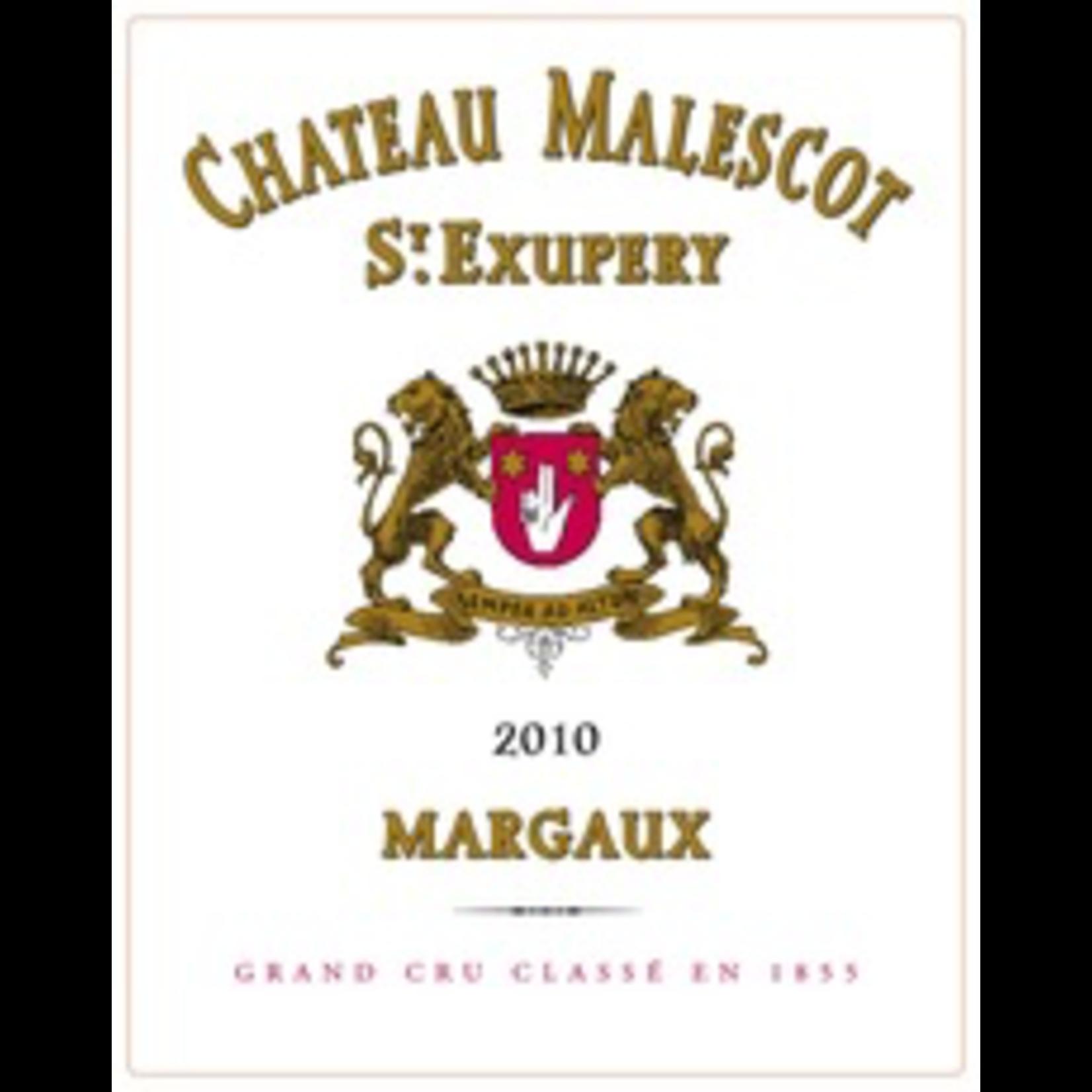 Wine Chateau Malescot Saint Exupery 2010