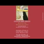 Wine Gianni Brunelli Rosso di Montalcino 2018