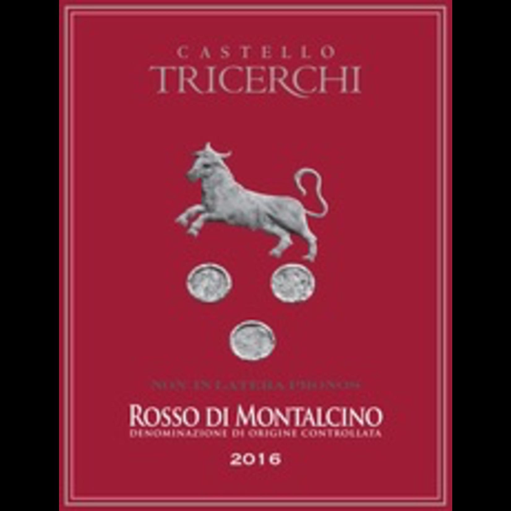 Castello Tricerchi Rosso di Montalcino 2016