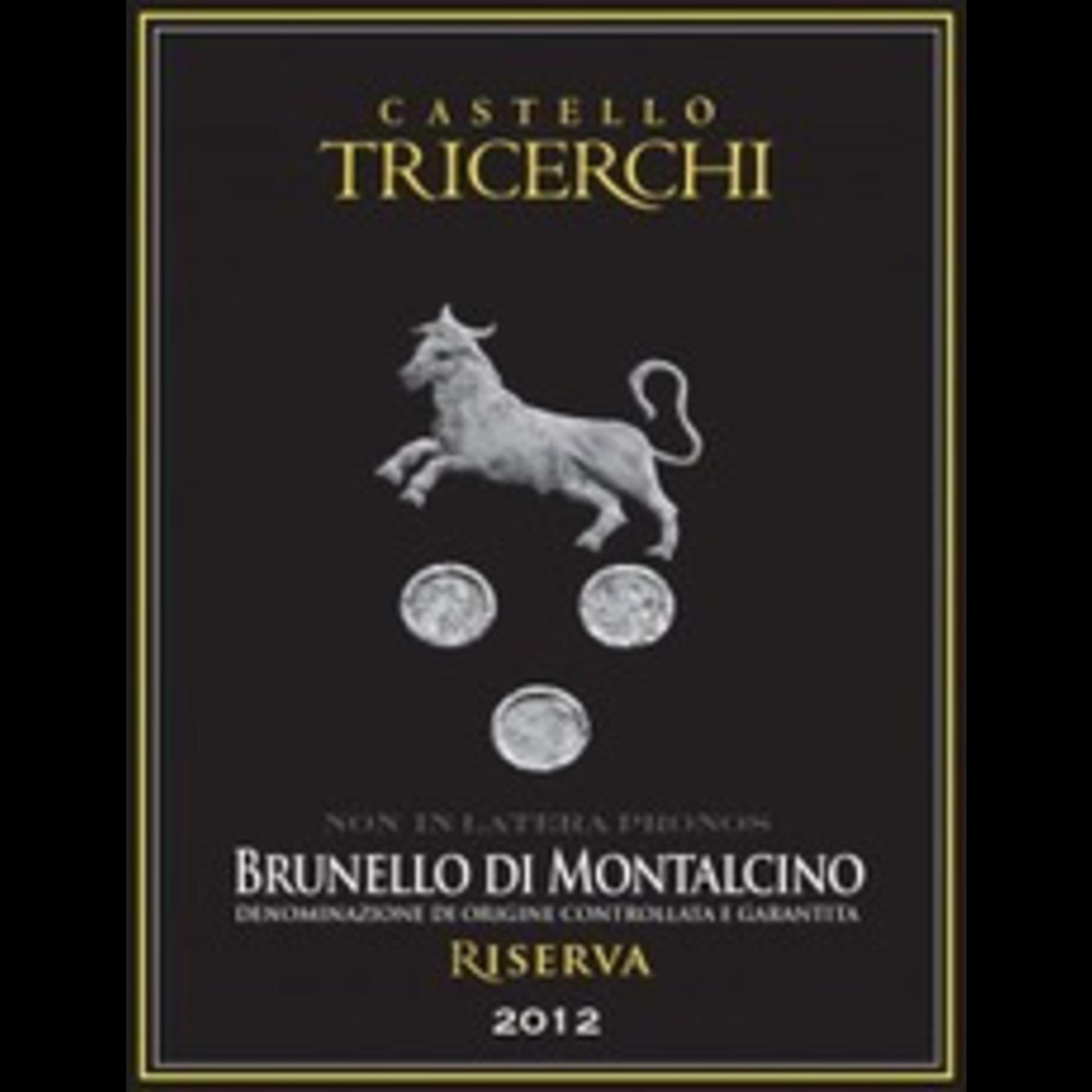 Castello Tricerchi Brunello di Montalcino Riserva 2012