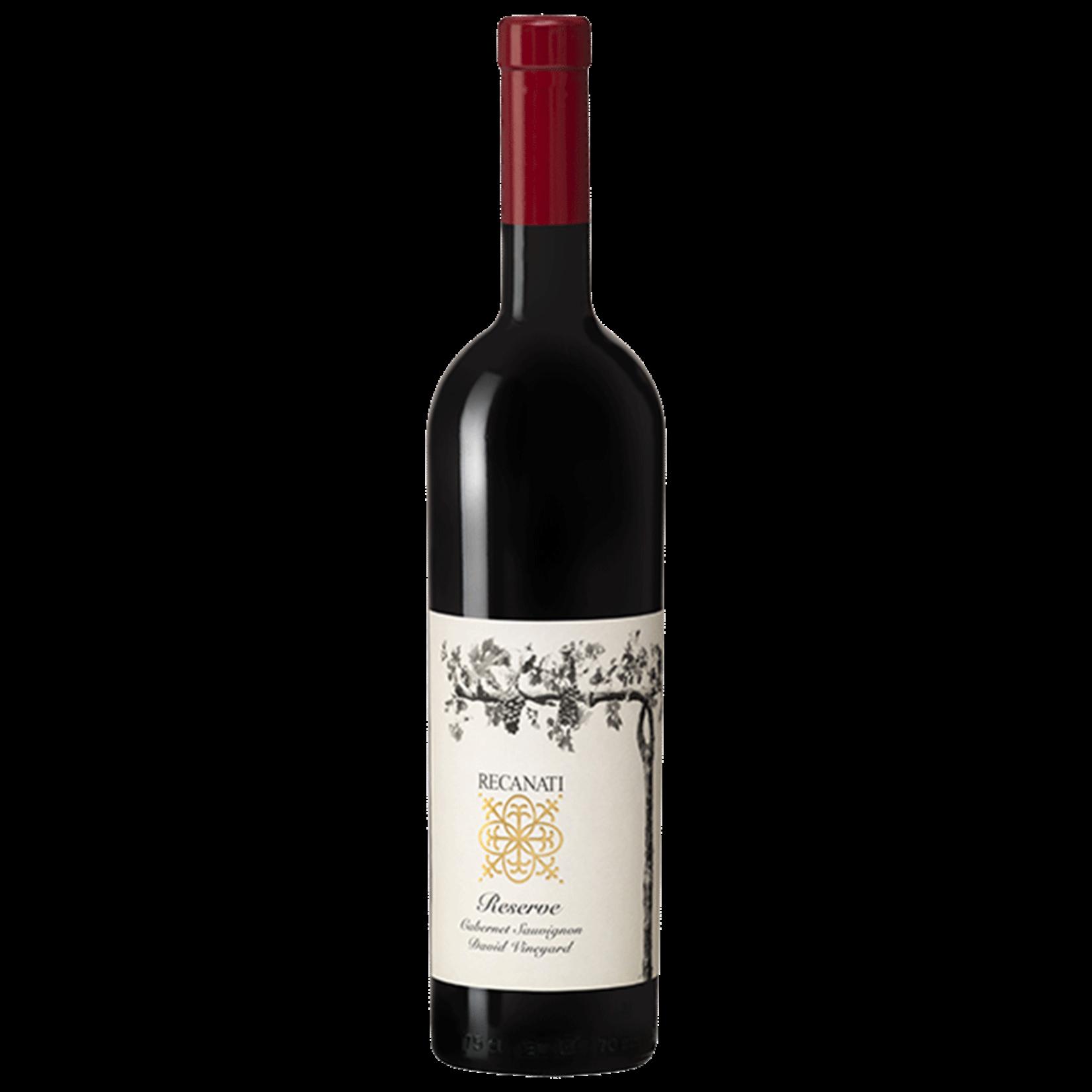 Wine Recanati Cabernet Sauvignon Reserve David Vineyard 2016 Kosher