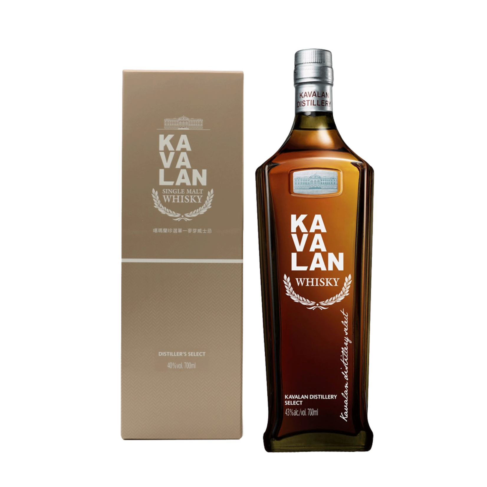 Spirits Kavalan Whisky Distillery Select Taiwan