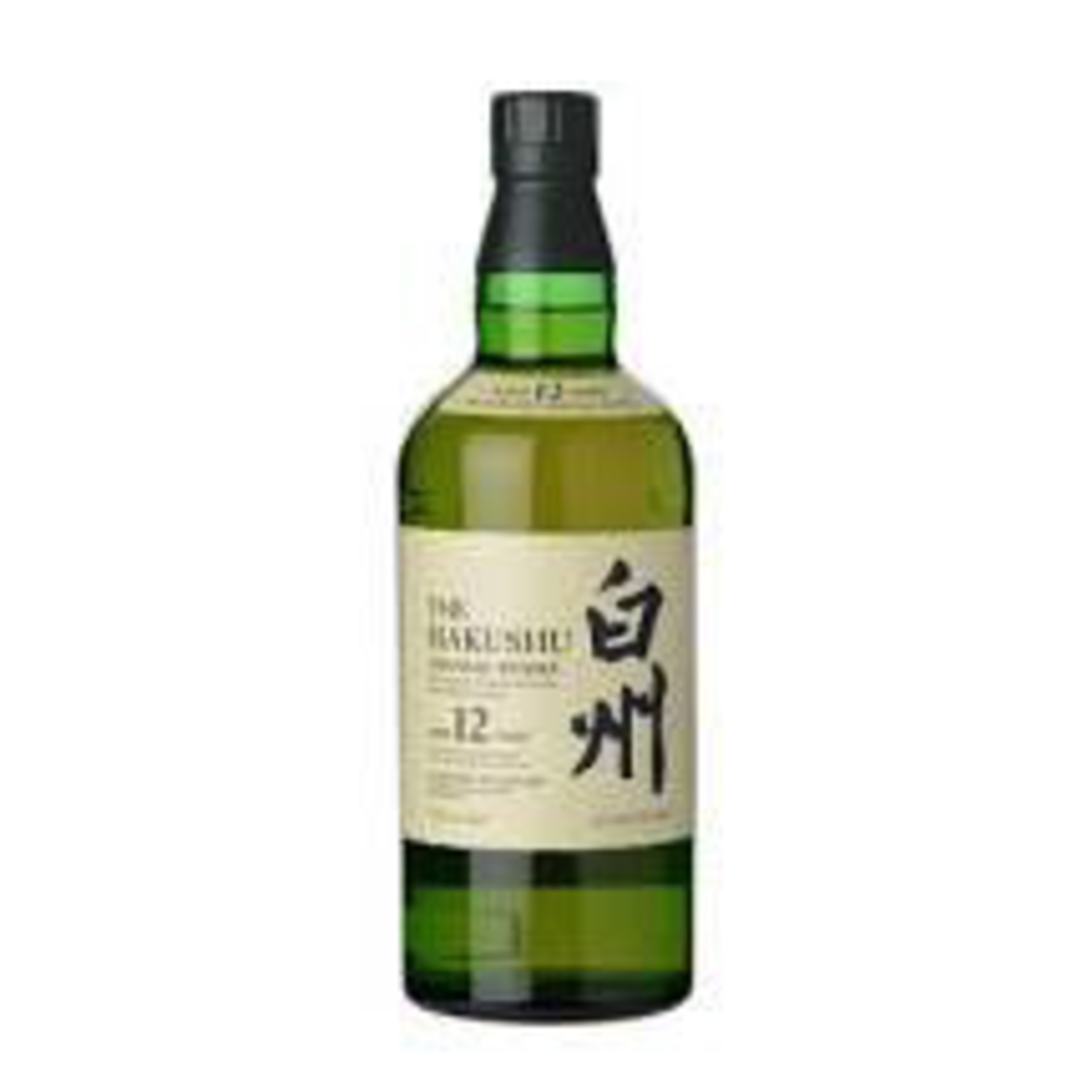 Spirits Suntory Hakushu Whisky Single Malt 12 Year