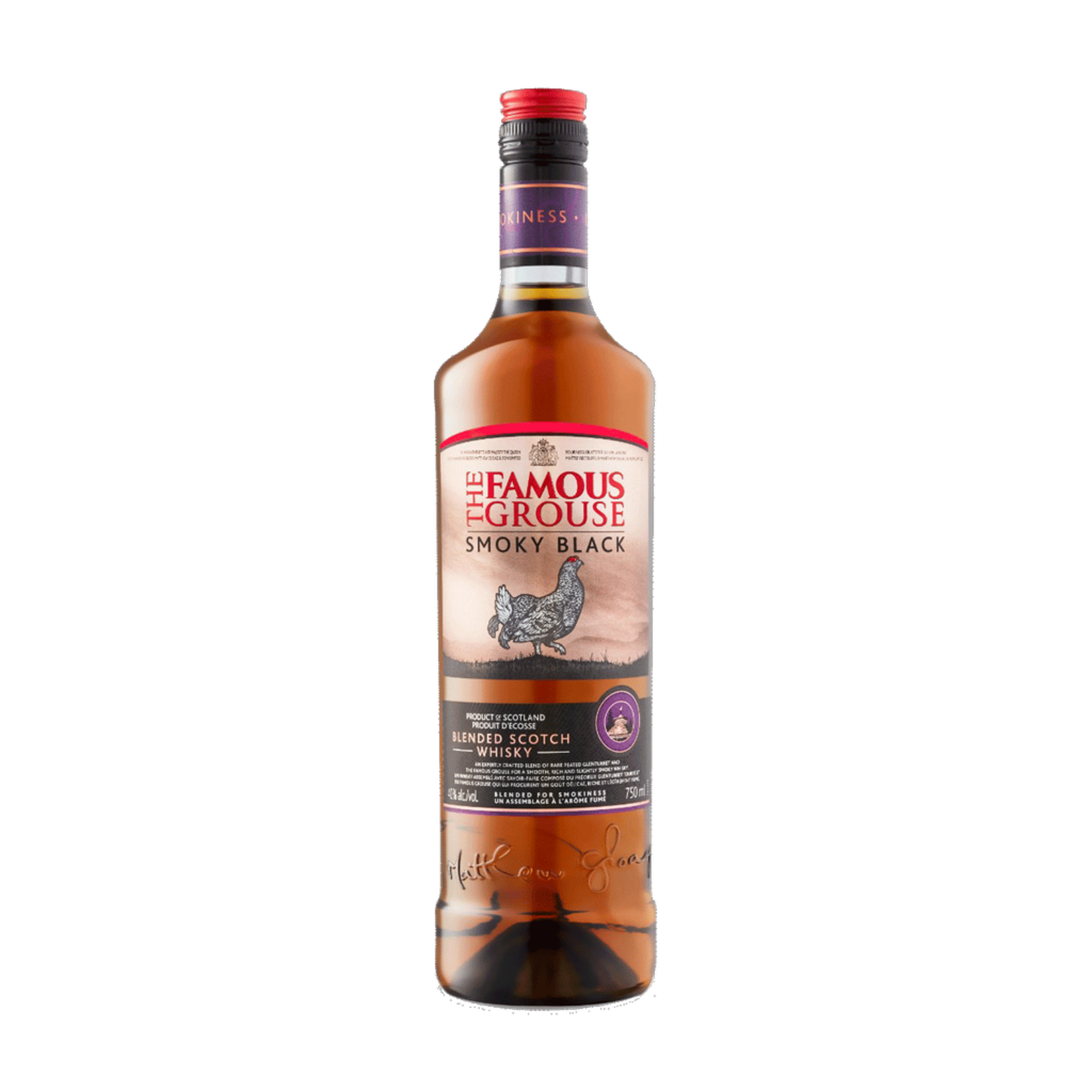 Spirits The Famous Grouse Smoky Black Blended Scotch Whiskey